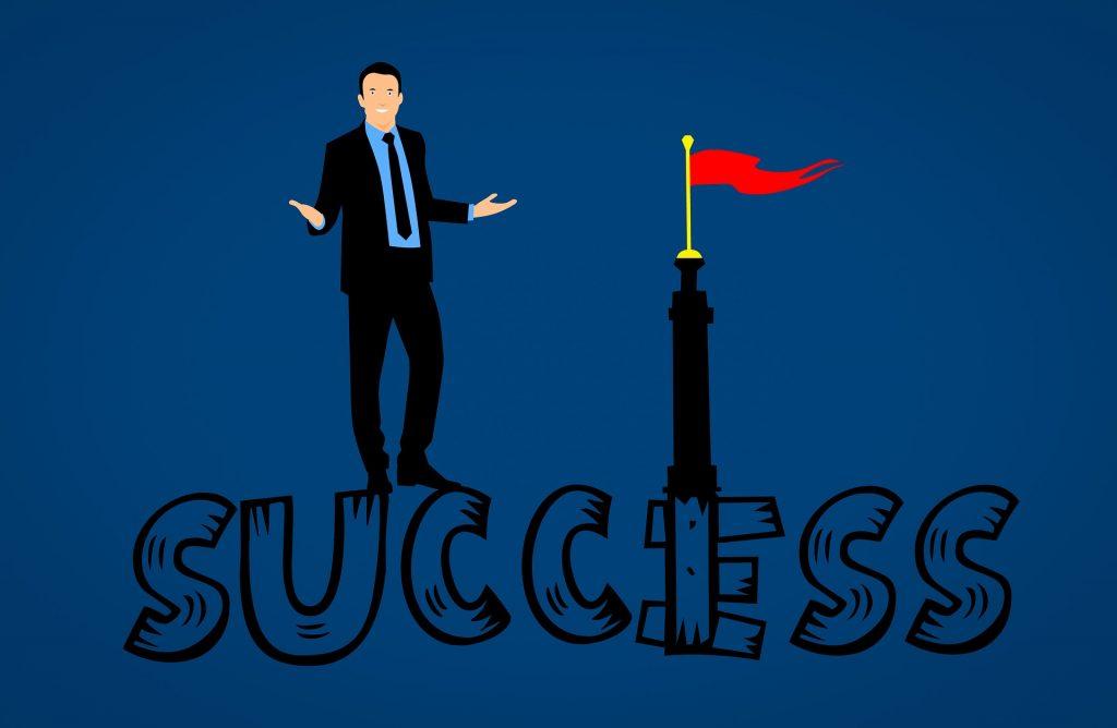 Trabajo de éxito